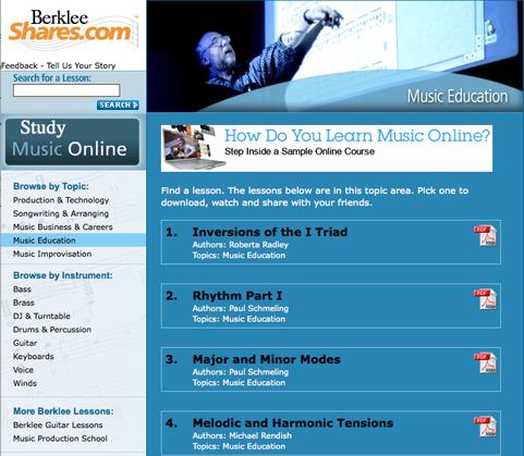 Lesson Plans : Music Portal : Melbourne Graduate School of Education